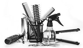 理美容室の日用品から化粧用品、エステなど包括的な商品が、理美容室の営業をサポートいたします。